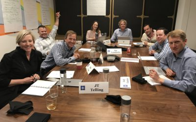 Bill Sanford Leads Executive Retreat for East West Partners