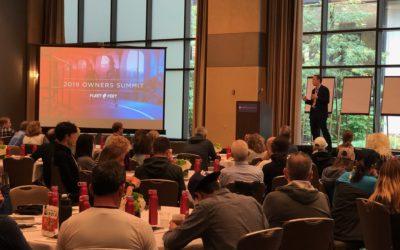 Bill Sanford Speaks at Fleet Feet's Annual Owner's Summit